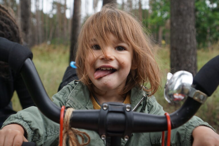 Read more about the article Cycling with a kid